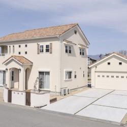 猫部屋と大きなガレージを備えた新築住宅【三重県亀山市 I様邸】